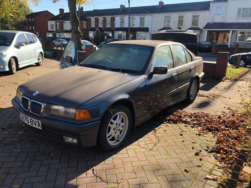 Bmw E36 323i 167k Saloon Manual Grey