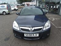 2008 58 VAUXHALL VECTRA 1.8 VVT DESIGN 5D 140 BHP***GUARANTEED FINANCE**PART EX WELCOME***