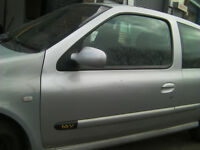 RENAULT CLIO 1.2 16V 2005 BREAKING WIPER ARM TED69 SILVER ALL PARTS AVAILABLE
