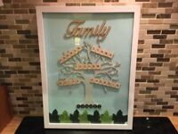 Personalised Family Tree. It will be unique to your family.