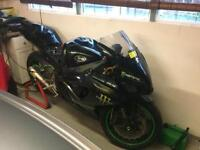 Suzuki gsxr k6 750 track race bike