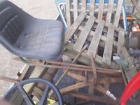 Atco mower trailed roller seat