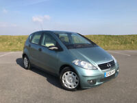 LOW MILEAGE MERCEDES A-CLASS A150 AUTOMATIC WITH FULL MERCEDES & SPECIALIST SERVICE HISTORY