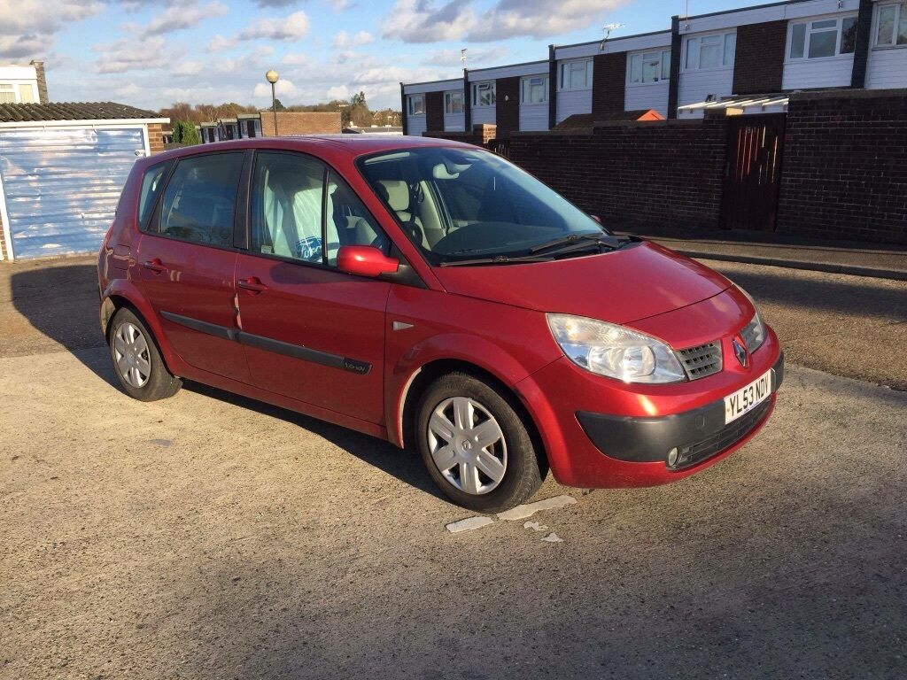 renault scenic 2004 2 owners have 2 key 1 6 petrol automatic miles 33000 mot 17 11 2016 875. Black Bedroom Furniture Sets. Home Design Ideas