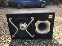 JBL Sub woofer and amplifier