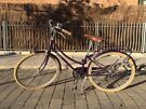 "Bobbin Brownie Blackcurrant 26"" Heritage Bike 35cm"