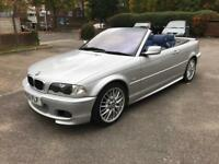 BMW 320CI M Sport Convertible *Blue Leathers*