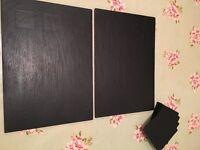 Slate mats & coasters