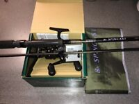 New Shimano DL2500FB reel & Drennan rod