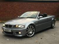 Bmw e46 M3 convertible Manual Gun Metal Grey + Hardtop