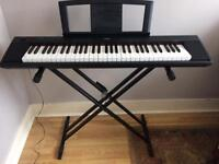 Yamaha Piaggero Compact Digital Piano with Tiger Stand and Music Stand