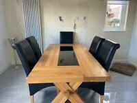 Solid Oak Dining Table RRP £2,600