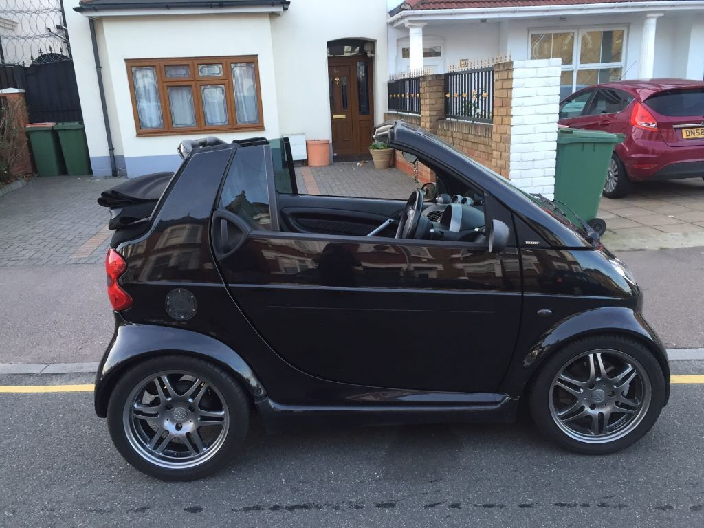 2006 smart fortwo brabus convertible black low miles in forest gate london gumtree. Black Bedroom Furniture Sets. Home Design Ideas