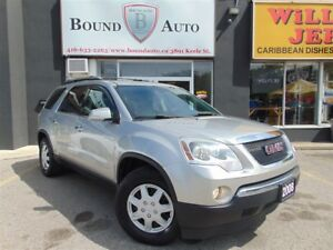2008 GMC Acadia SLT1 7 SEATERS,SUNROOF,LEATHER,NO ACCIDENT