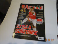 The Arsenal Magazine Back Issues £1.50 Each or 10 for £10.00
