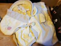 Moses basket cover sets/ fitted sheets unisex & girl
