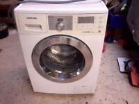 Samsung ecobubble washing machine 7kg load
