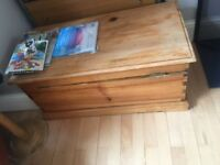 Vintage blanket box toy box