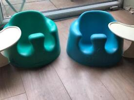 BUMBO SEATS WITH TRAYS