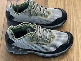Women's LA sportiva trainers/trail shoes.