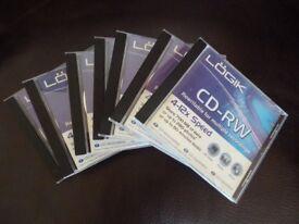 Logik CD-RW Rewritable Discs 700 MB