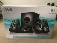Logitech surround sound speakers