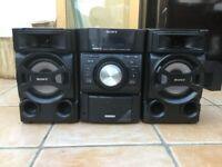 SONY small CD/cassette/radio player
