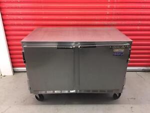 4 ft under counter fridge or freezer & biro meat saw