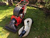MTD Lawnflite CSV leaf vacuum, garden shredder, wood chipper.