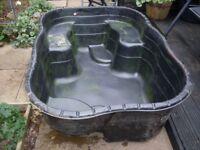 500ltr moulded fish pond