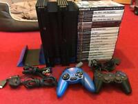 Fully tested and working x2 consoles ps2 bundle