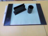 Italian Desk Blotter and Accessories