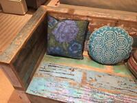 Wooden Indian Sofa