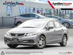 2014 Honda Civic LX One owner vehicle, Full Service History,...