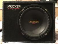 Kicker sub and amp