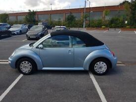 VW Convertable Beetle.. 79000 miles.. (LOW MILEAGE)