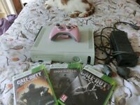 XBox 360 Console, Controller, Black Ops 2, Black Ops 3, Dark Souls 2, XBox Gold 14 Day Pass