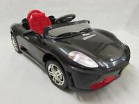 Ferrari style ride on cars with parental controls brand new