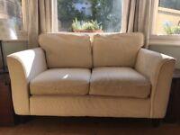 Small cream sofa workshop settee