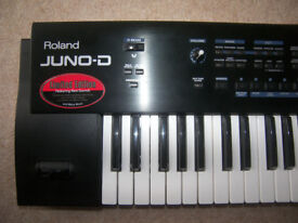 Roland JUNO-D Limited Edition , 61-Keyboard , Synthesizer , 702 Patches , 128 User , 20 Rhythm Sets.