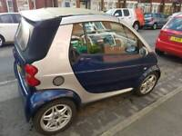 2002 convertible smart car city passion