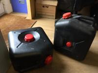 Waste water containers for under caravans never used