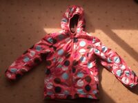 "Boden girls ""Spots & Dots"" coat, raincoat, anorak, from aged 10 years - Larne/Belfast, £6"