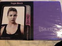 USA Pro Yoga Block. New
