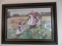LOVELY Picture - GIRLS on the Meadow