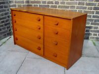 FREE DELIVERY Stag Chest Of Drawers Wooden Furniture