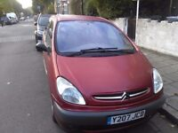 Citroen picasso mot june 2017 87000 miles any inspection price is £350