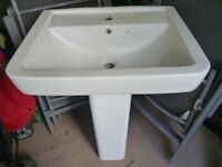 BATHROOM WHITE WASH BASIN