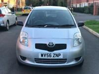 TOYOTA YARIS T2 VVT-I 1.0L PETROL MANUAL 3 DOOR HATCHBACK