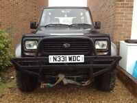 DAIHATSU FOURTRAK INDEPENDENT ON ROAD / OFF ROADER